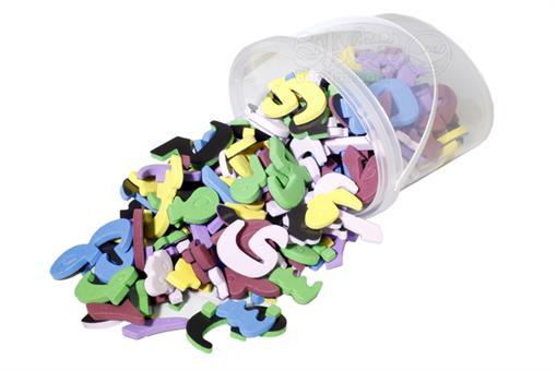 اسباب-بازی-حروف فارسی مغناطیسی 190 تکه راشین