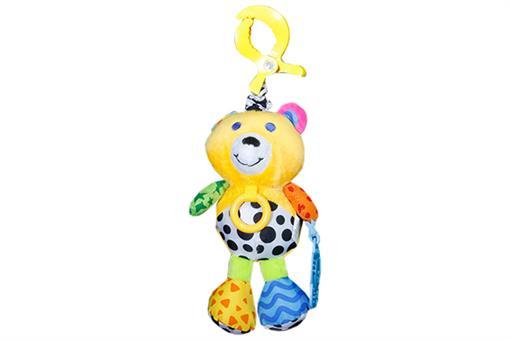 اسباب-بازی-خرس آویز جغجغه ای