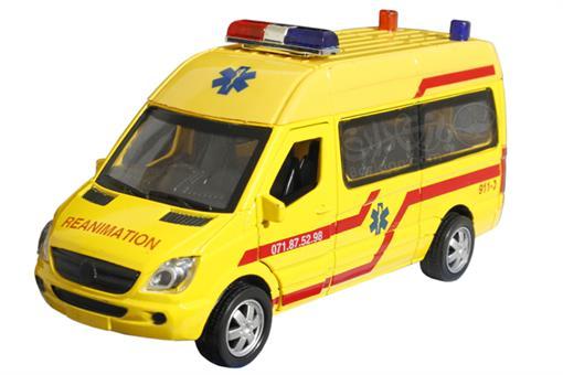 اسباب-بازی-ماشین ون آمبولانس فلزی