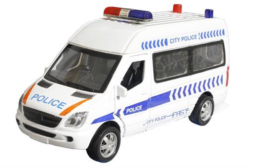 اسباب-بازی-ماشین ون پلیس فلزی