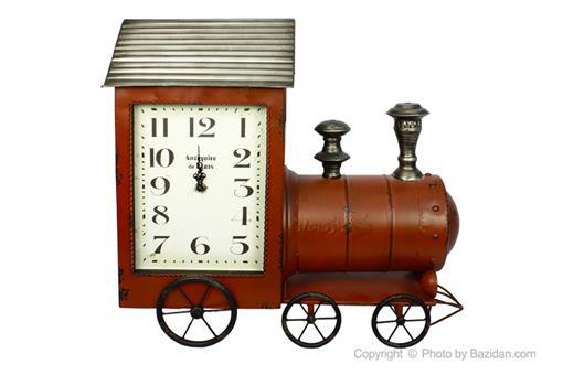 اسباب-بازی-ساعت فلزی قطار