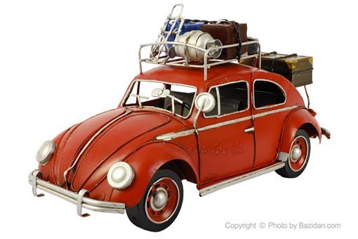 اسباب-بازی-ماشین فلزی دکوراتیو مدل فولکس