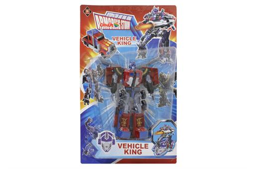 اسباب-بازی-ترانسفورمر تبدیل شونده به کامیون VEHICLE KING