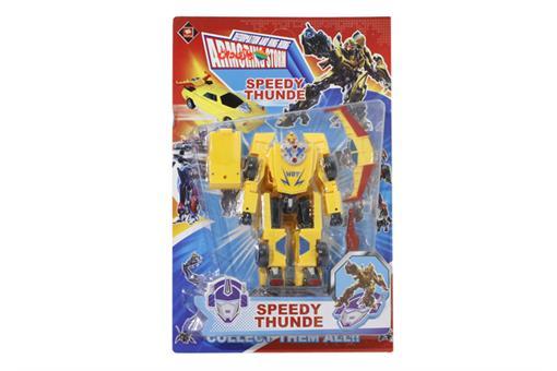 اسباب-بازی-ترانسفورمر تبدیل شونده به ماشین سواری SPEEDY THUNDE