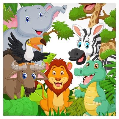 قصه گردش حیوانات