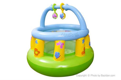 اسباب-بازی-پارک بازی بادی گرد کودک اینتکس