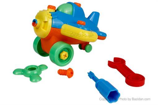 اسباب-بازی-هواپیما ساخت و ساز جیمبو