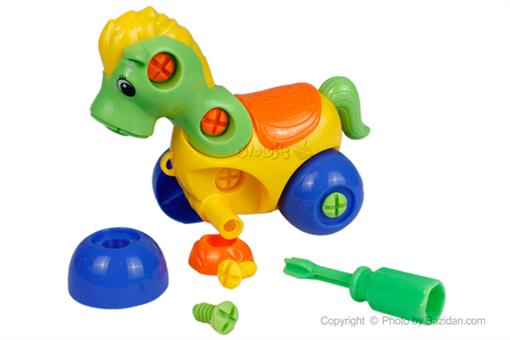 اسباب-بازی-اسب ساخت و ساز جیمبو