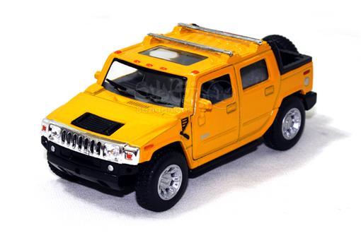 اسباب-بازی-ماشین هامر H٢ مارک کین اسمارت زرد