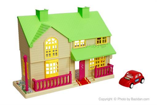 اسباب-بازی-خانه کوچک ویلایی درج سبز کرم