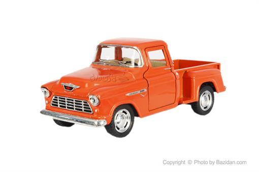 اسباب-بازی-ماشین عقب کش وانت شورولت پیک آپ نارنجی