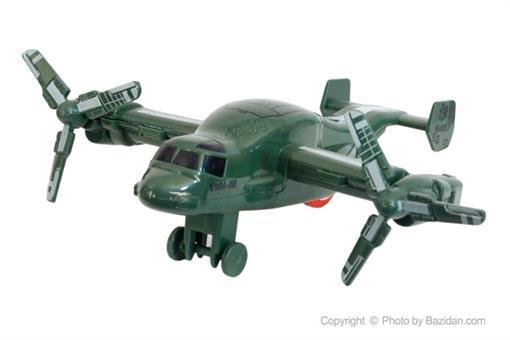 اسباب-بازی-هواپیمای 2 ملخه سبز