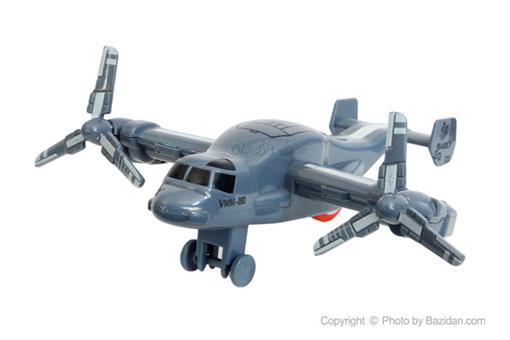 اسباب-بازی-هواپیما 2 ملخه طوسی