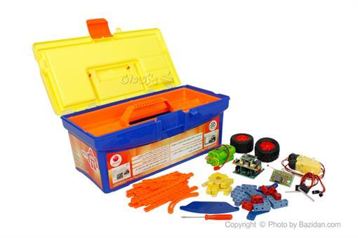 اسباب-بازی-ربات ساختنی و برنامه پذیر روکارو