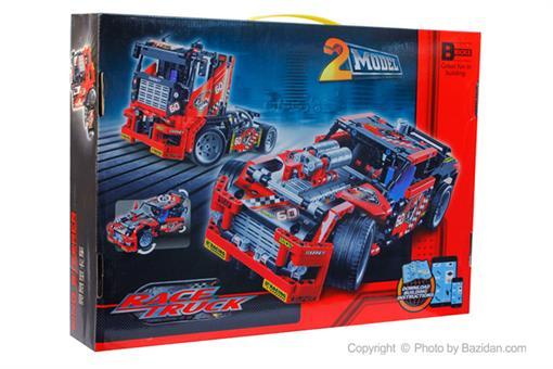 اسباب-بازی-لگو کامیون و ماشین ٦٠٨ قطعه DECOOL