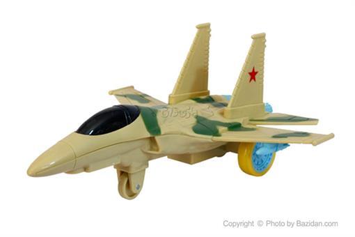 اسباب-بازی-هواپیمای قدرتی جنگی صدادار چراغدار ارتشی