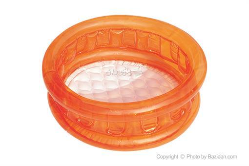 اسباب-بازی-استخر کودک بست وی رنگ نارنجی