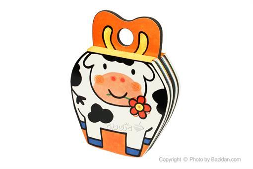 اسباب-بازی-کتاب فومی گوساله گشنش شده