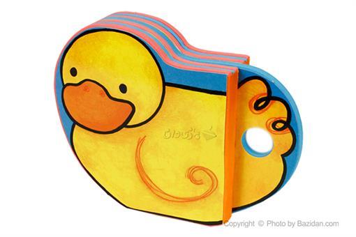 اسباب-بازی-کتاب فومی شالاپ شولوپ یه اردک