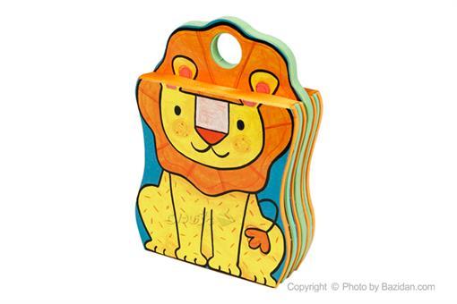 اسباب-بازی-کتاب فومی شیر کوچولوی خسته