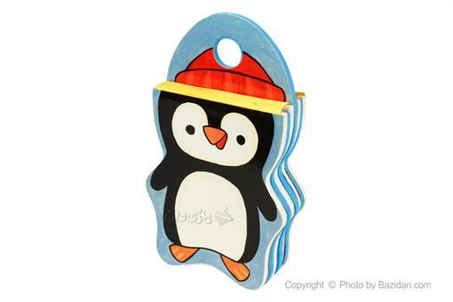 اسباب-بازی-کتاب فومی سر میخوره پنگوئن