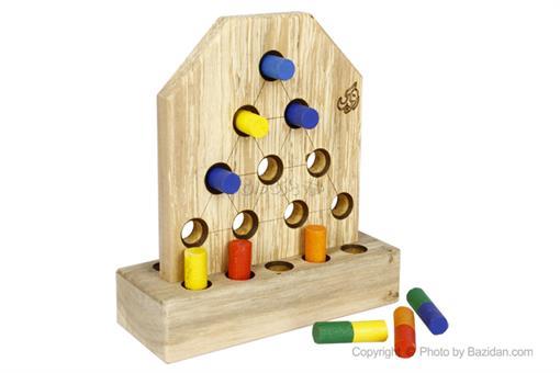 اسباب-بازی-دوز رنگی روپک