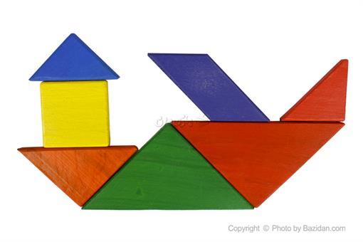 اسباب-بازی-تنگرام رنگی روپک