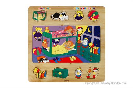 اسباب-بازی-جورچین پین دار طرح خواب