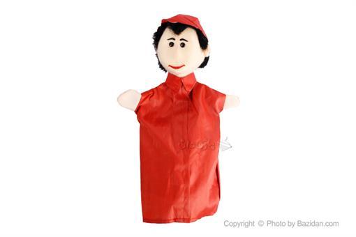 اسباب-بازی-عروسک نمایشی پسر لباس کلاه قرمز