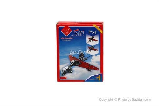 اسباب-بازی-ساختنیهای فلزی سه در یک هواپیما جنگی