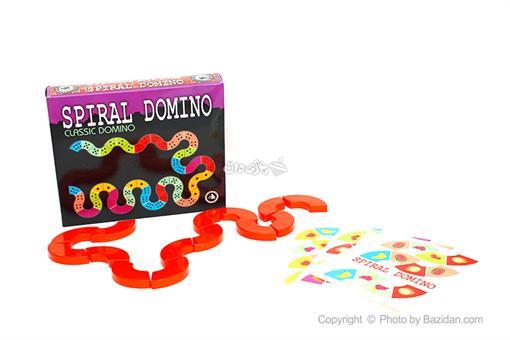 اسباب-بازی-دومینو مارپیچ(کلاسیک)