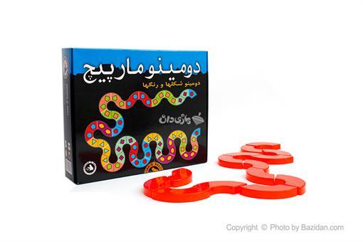 اسباب-بازی-دومینو مارپیچ(شکلها و رنگها)