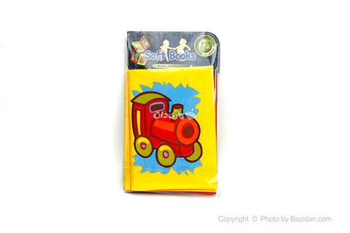 اسباب-بازی-کتاب های نرم پارچه ای (وسایل نقلیه)