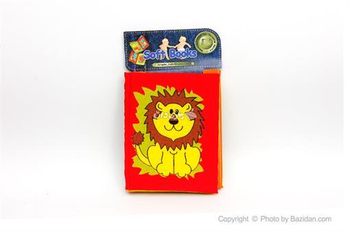 اسباب-بازی-کتاب های نرم پارچه ای (حیوانات جنگل)