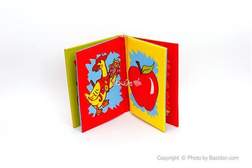اسباب-بازی-کتاب های نرم پارچه ای (میوه ها و حیوانات)