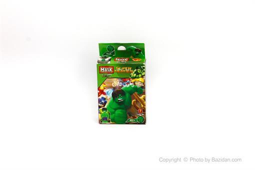 اسباب-بازی-لگو شخصیت سایز بزرگ( hulk)