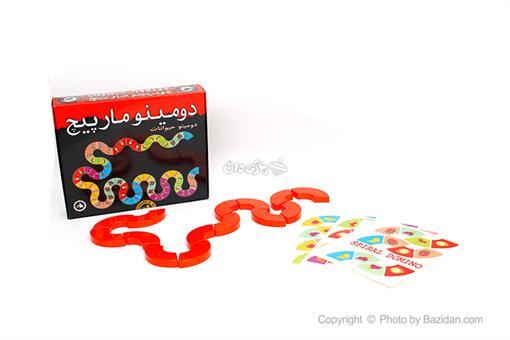 اسباب-بازی-دومینو مارپیچ(حیوانات)