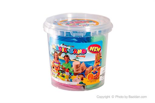 اسباب-بازی-شن چهار رنگ یک کیلویی