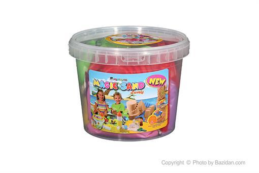 اسباب-بازی-شن دو کیلویی چهار رنگ