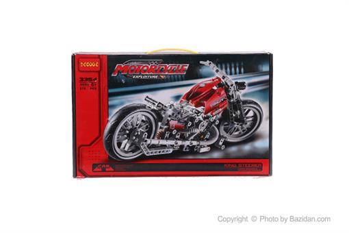 اسباب-بازی-لگو موتور قرمز