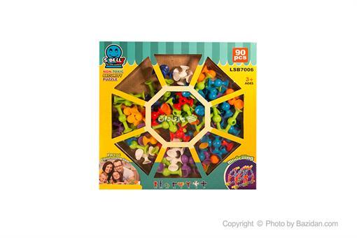 اسباب-بازی-لگوبادکشی90 قطعه TA61