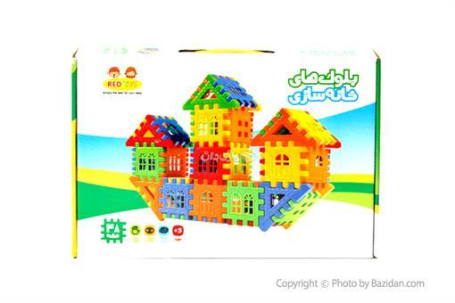 اسباب-بازی-بلوک خانه سازی ٤٨ قطعه