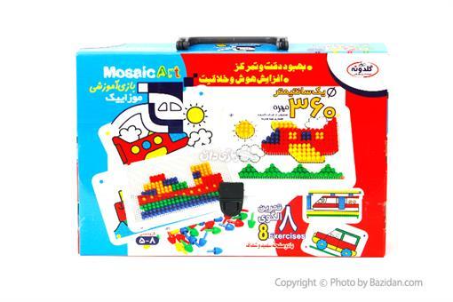 اسباب-بازی-هنر موزاییک کوچک(٣٦٠ مهره)