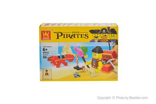 اسباب-بازی-'لگو دزدان دریایی 69 قطعه 60042