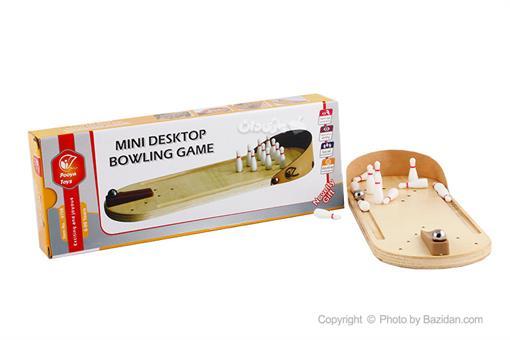 اسباب-بازی-مینی بولینگ چوبی پویا تویز