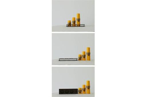 اسباب-بازی-ست کامل شمع استوانه قطر ٤ سانت کد٤٠١
