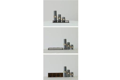 اسباب-بازی-ست کامل شمع استوانه قطر ٤ سانت کد٤٠٣