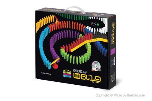 اسباب-بازی-چیدنیها حرفه ایی ٢٠٠ قطعه با فرزندان