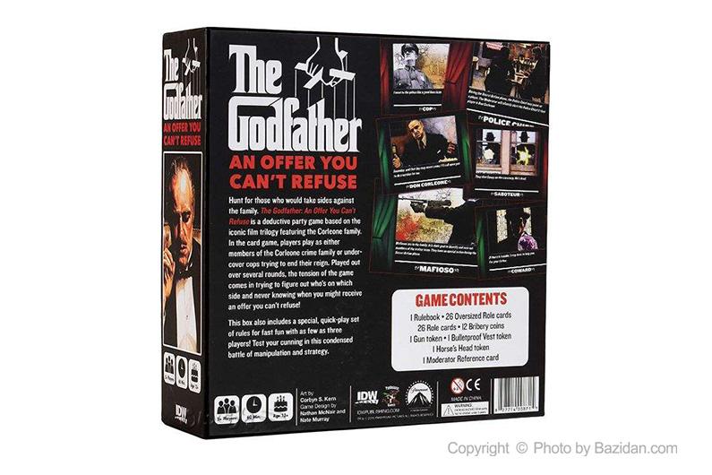 تصویر شماره 2  بازی کارتی پدرخوانده (godfather)