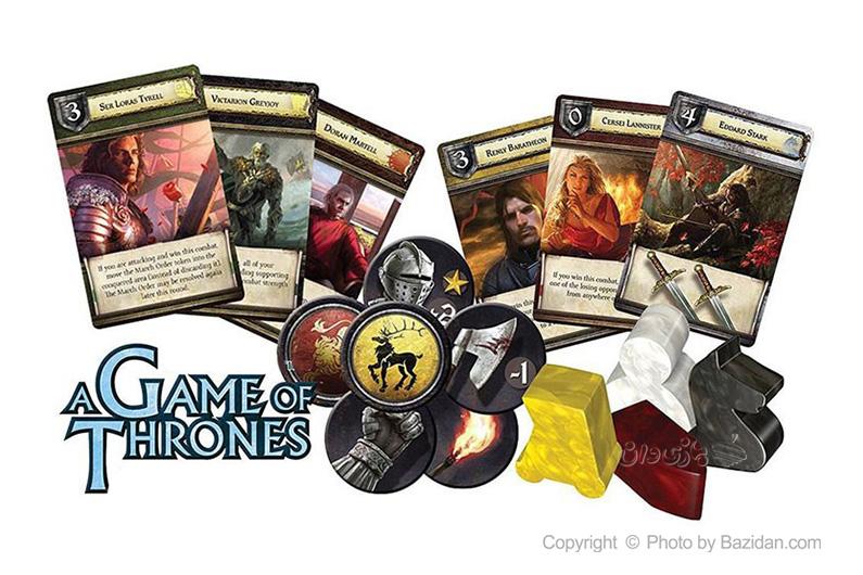 تصویر شماره 1  بازی کارتی تاج و تخت ( game of thrones)